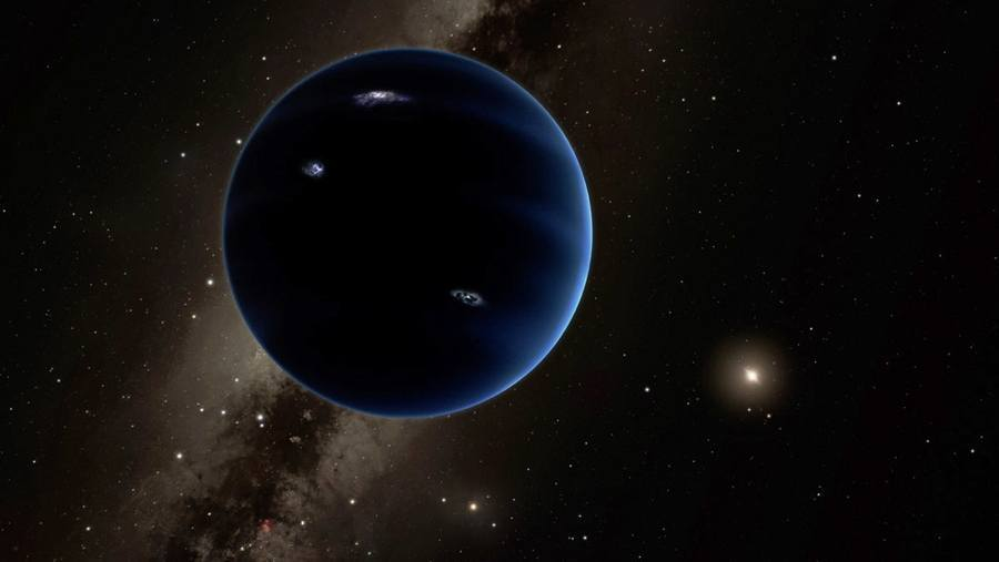 Ninth Planet Discovery