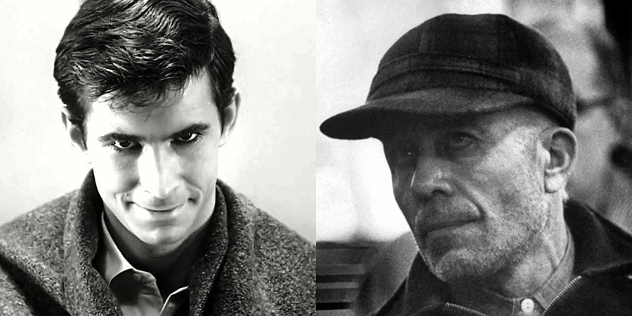 Norman Bates Ed Gein