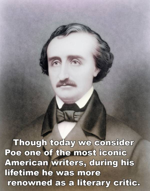Poe Facts Literary Critic