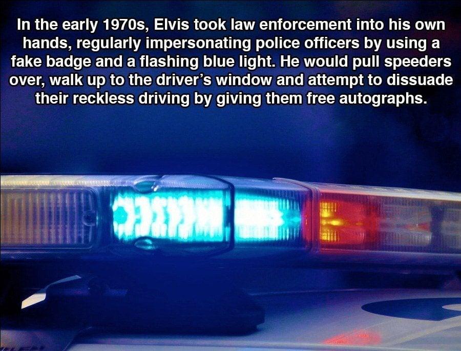 Police Lights Elvis