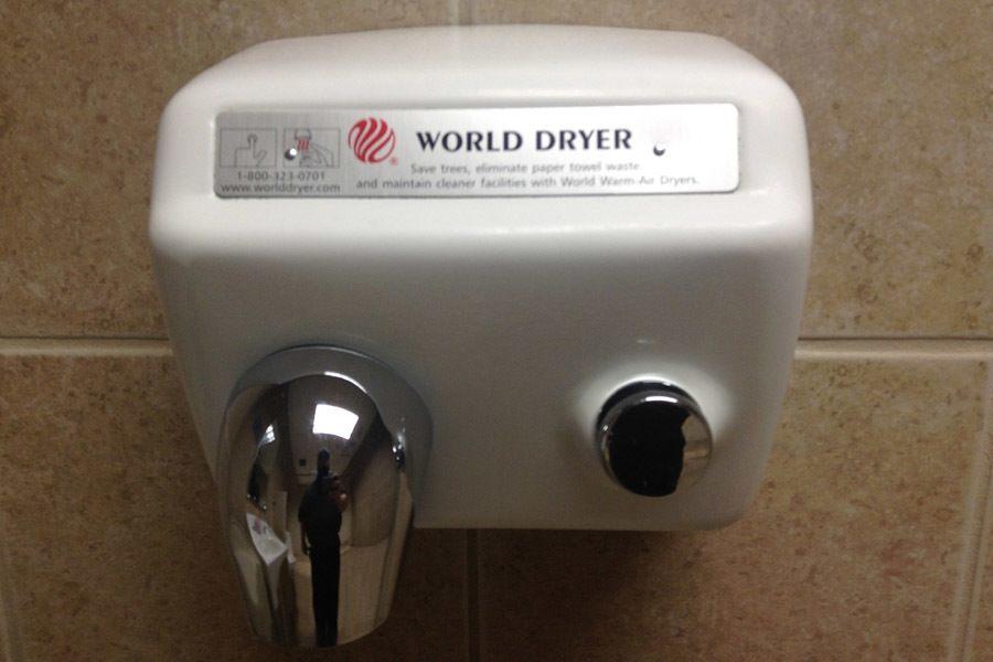 Public Restroom Facts Air Dryer