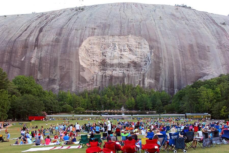 Stone Mountain Park Laser Show