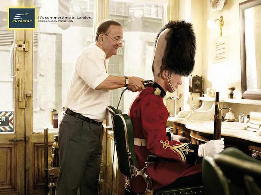 Weird Ads Barber Uk