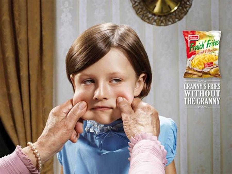 Strange Ads Hate Grandma