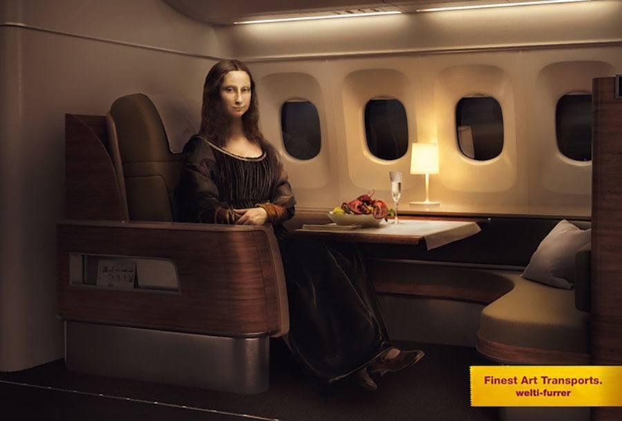 Strange Ads Mona Train