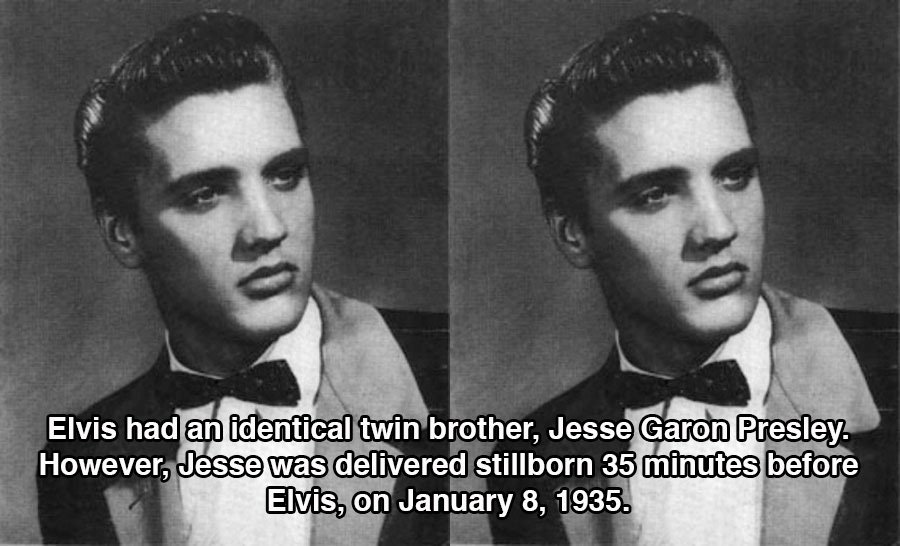 Strange Elvis Facts Twin