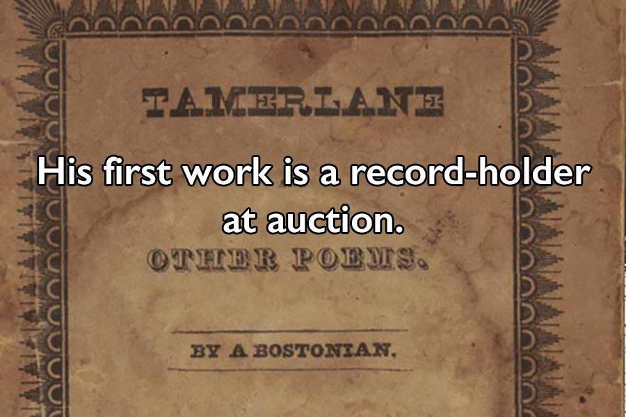 Tamerlane Poems