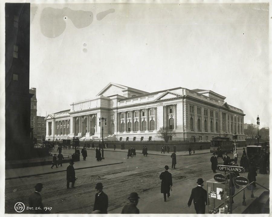 Vintage New York Public Library