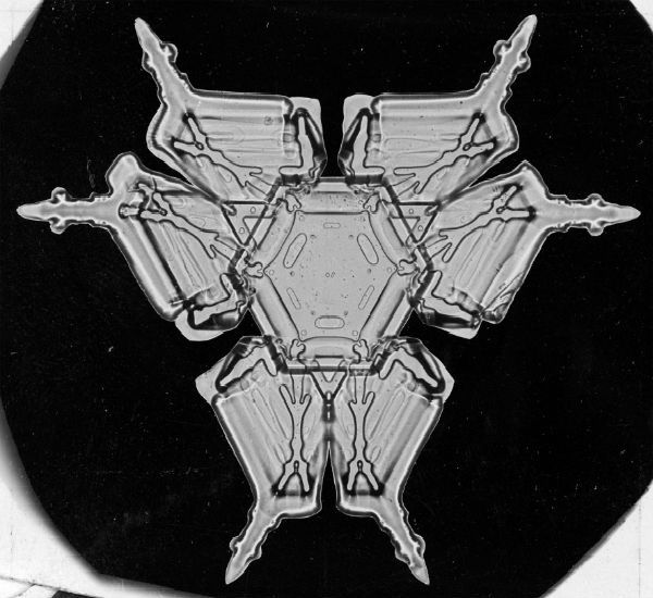Vintage Snowflakes 2