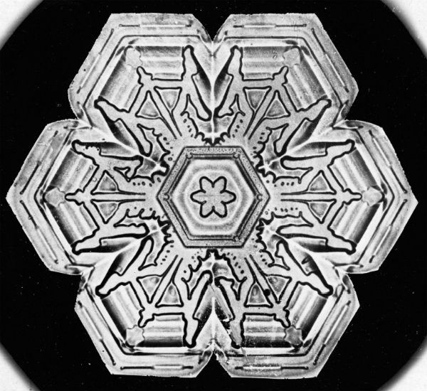 Vintage Snowflakes 3