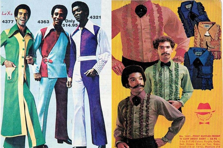 Weird 1970s Menswear Cuff