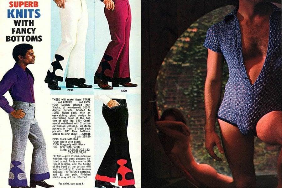 Weird 1970s Menswear Fancy Bottoms