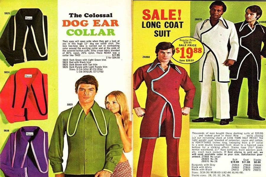 Weird 1970s Menswears Dog Ear