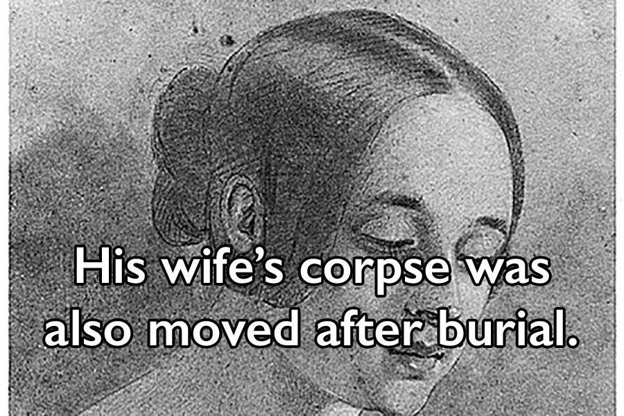 Wife Corpse Removed