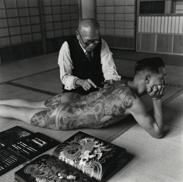 Yakuza Tattoos Back Man