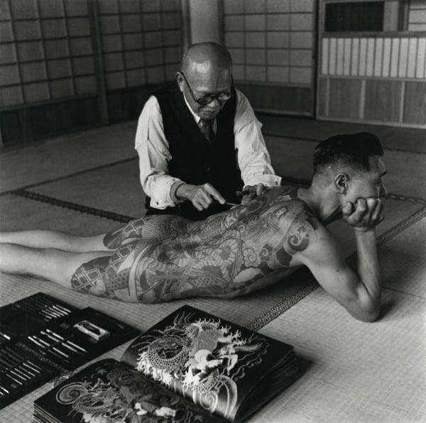 Yakuza Tattoos Back Man