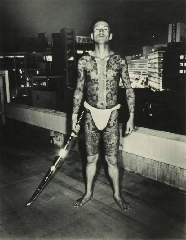 Yakuza Tattoos Sword Man