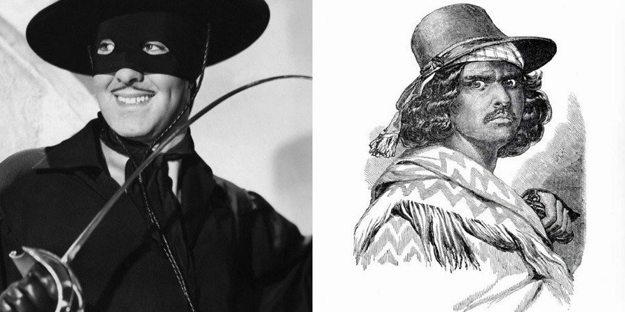Zorro Joaquin Mountain Robber