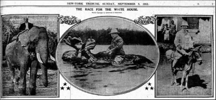 1912 Campaign Photo