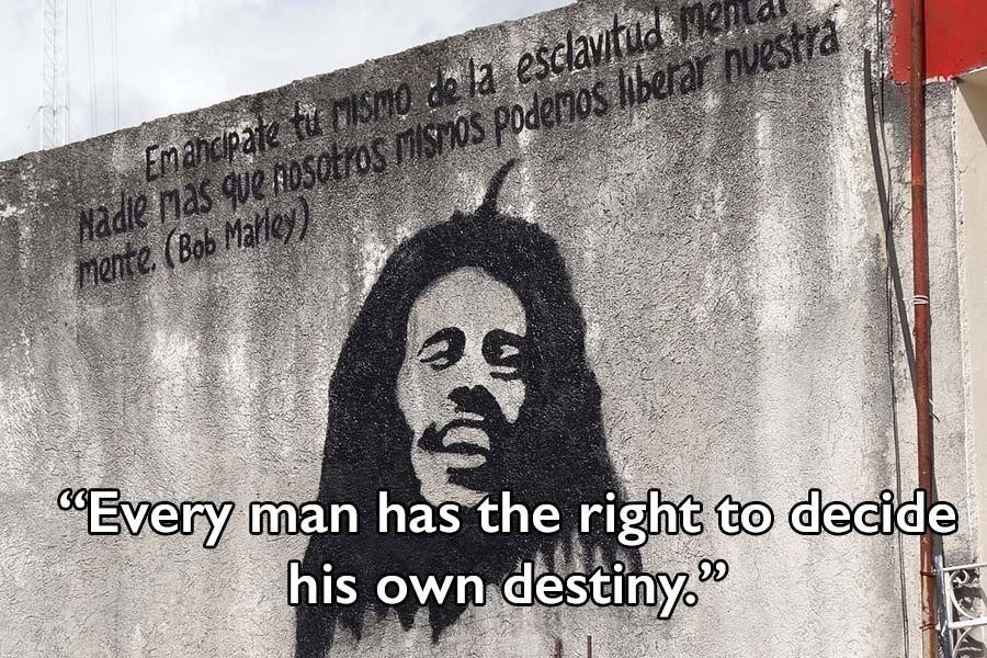 Bob Marley Quotes On Destiny