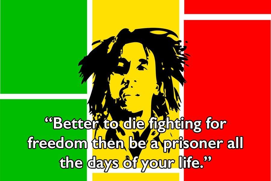 Bob Marley On Freedom