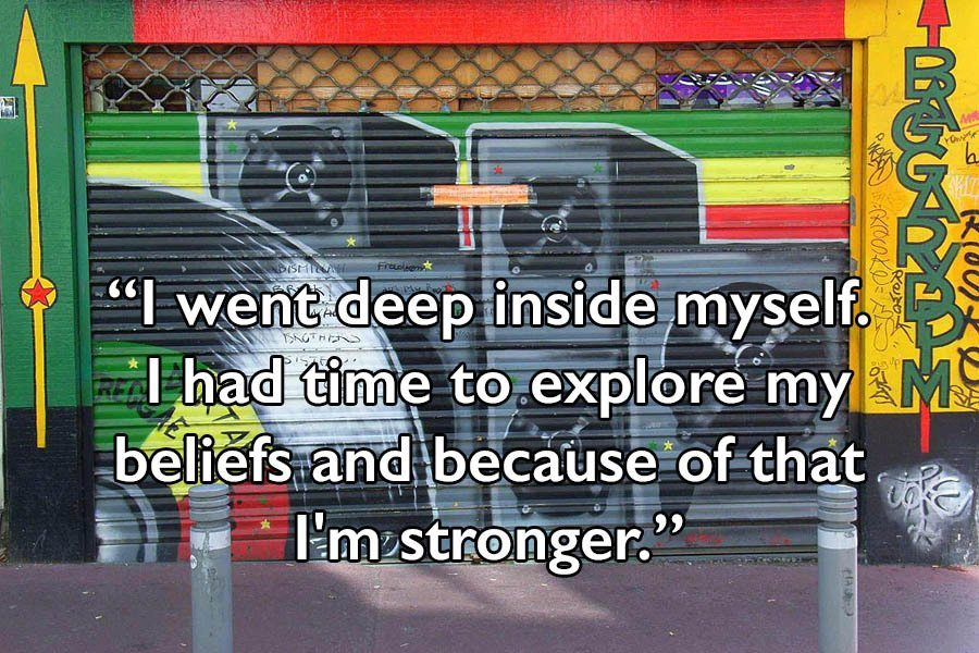 Bob Marley Quotes Graffiti
