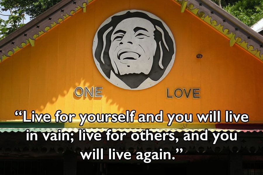 Bob Marley Quote On Love