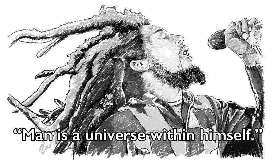 Bob Marley Quotes Pencil