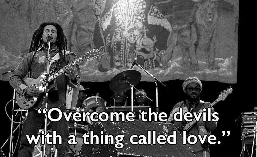 Bob Marley Quotes Performing
