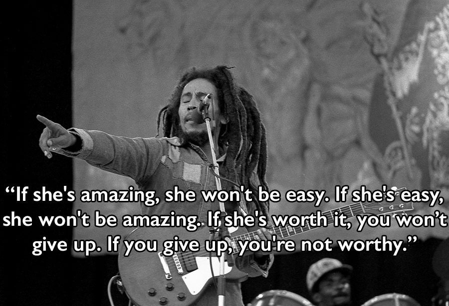 Bob Marley Quotes Pointing