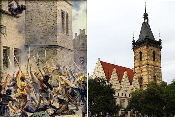 Defenestration Of Prague New Town Hall