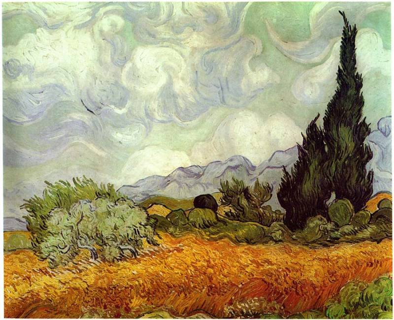 Van Gogh Wheatfield