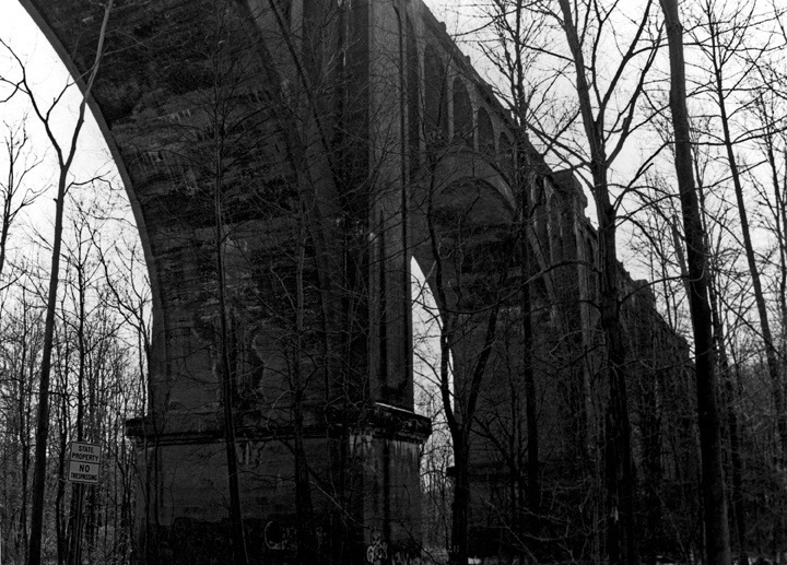 Abandoned Viaduct From Below
