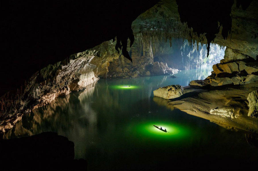 Active River Cave
