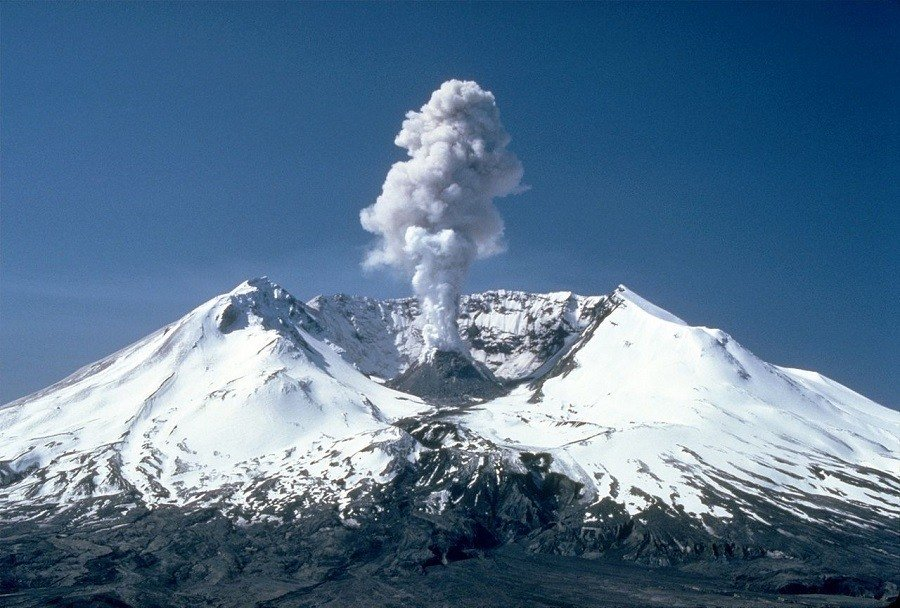 After Mount St Helens Eruption