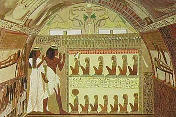 Ancient Egyptian Art Therapy Mental Illness Treatment