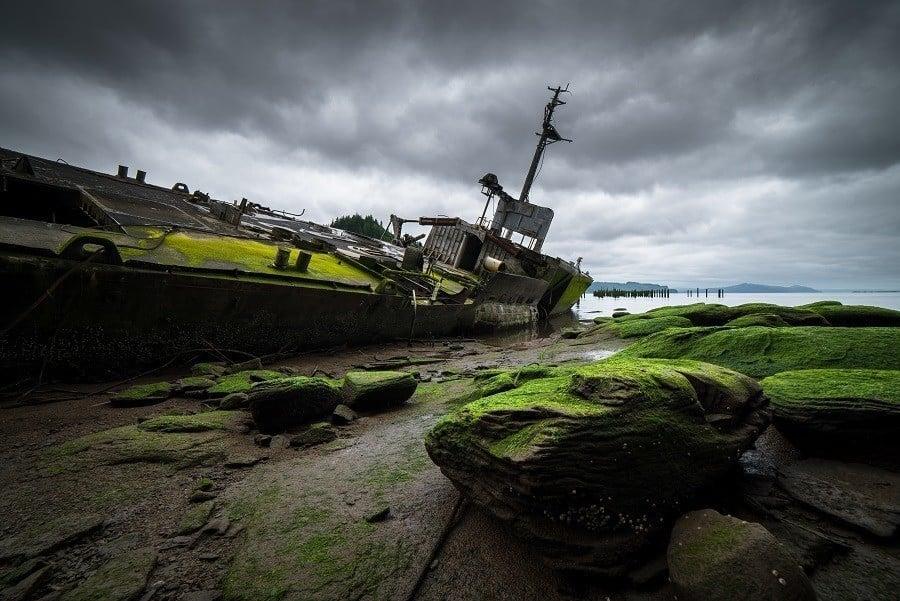 Astoria Oregon Wreck