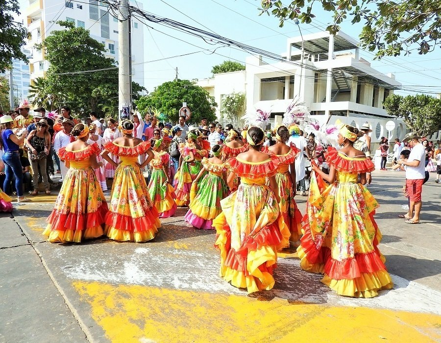 Group Women Dancers