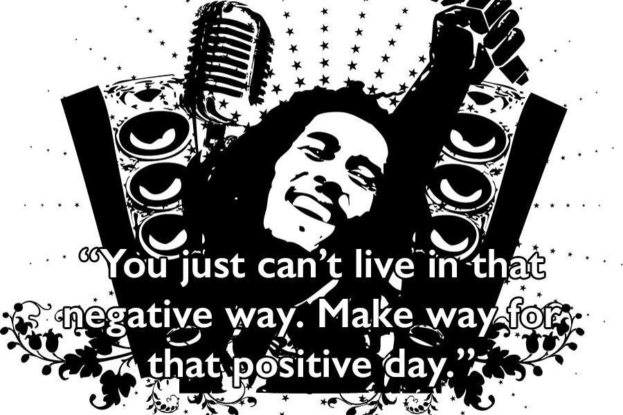 Bob Marley Quotes Mic