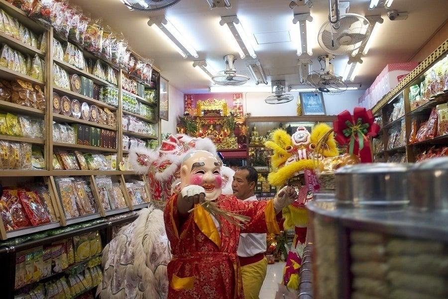 Chinese New Year Bangkok Parade Character