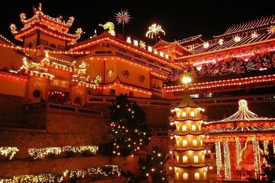 Chinese New Year Malaysia Penang Temple