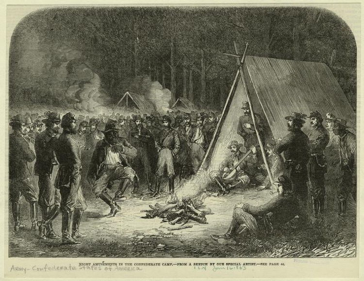 Confederate Army Campsite