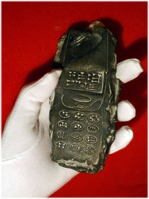 Cuneiform Cell Phone