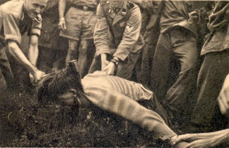 Decapitation By Ustashe In World War 2