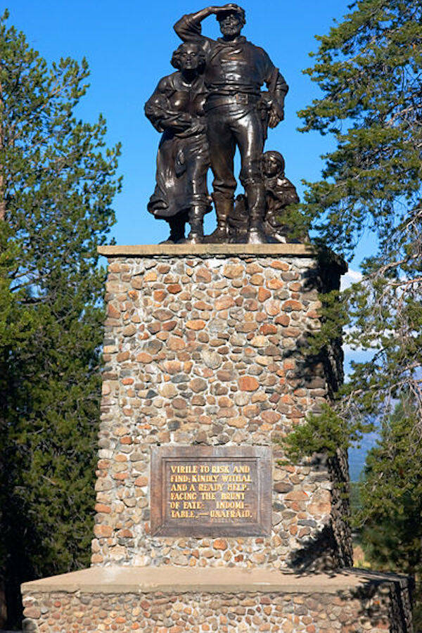 Donner Party Memorial Statue