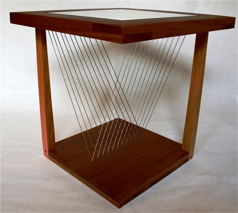 End Table Suspended Tension Furniture