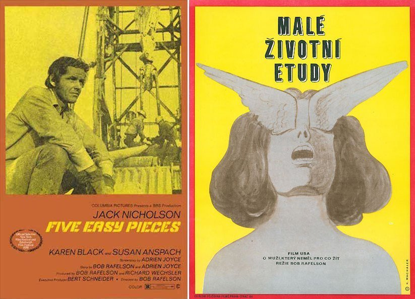Five Easy Pieces Posters