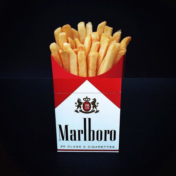 Fries Cigarettes