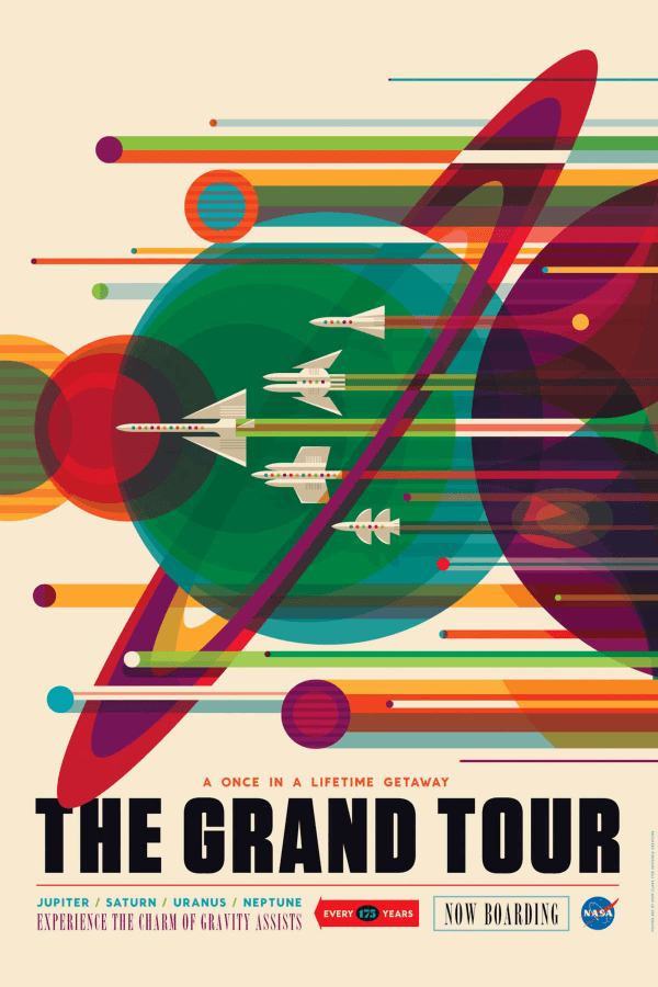Cool Space Travel Posters By NASA