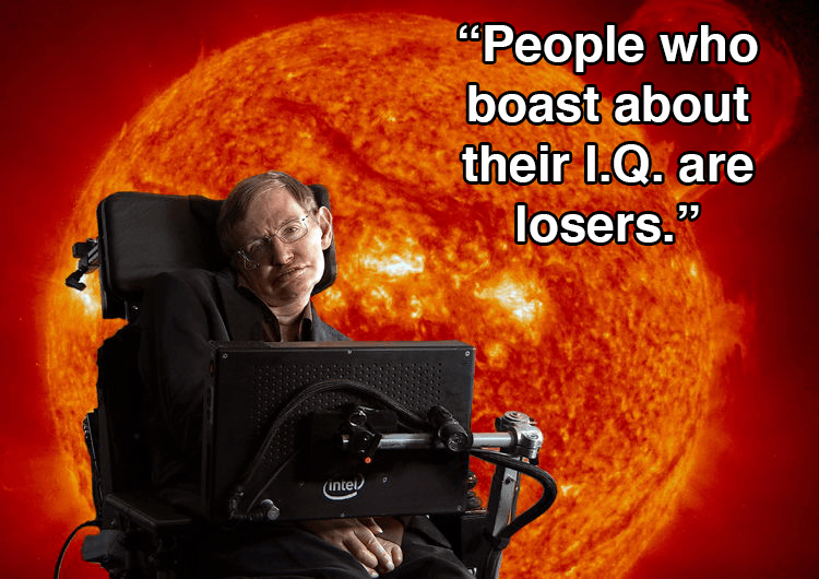 Stephen Hawking Quotes About IQ